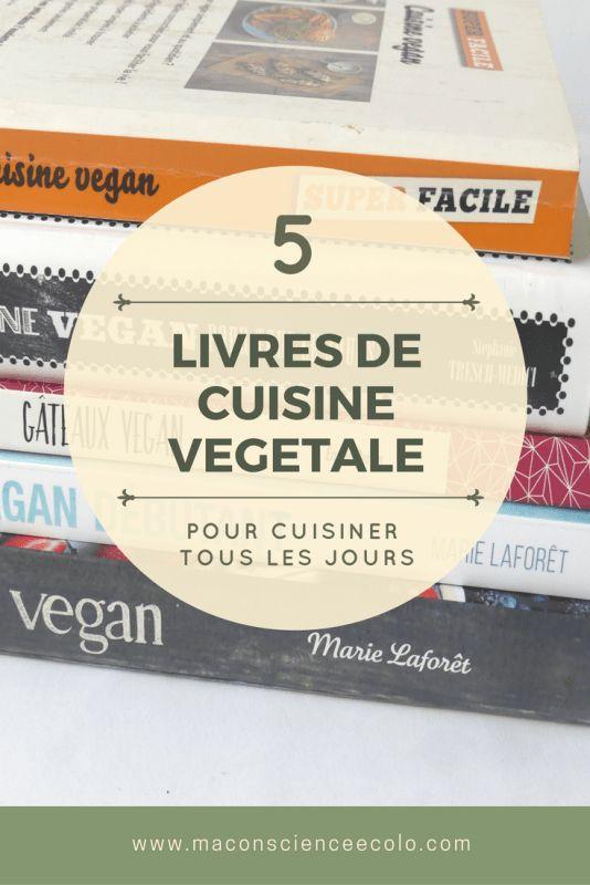 mon top 5 des livres de cuisine végétale #livre #cuisine