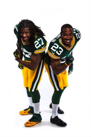 Eddie Lacy and Johnathan Franklin