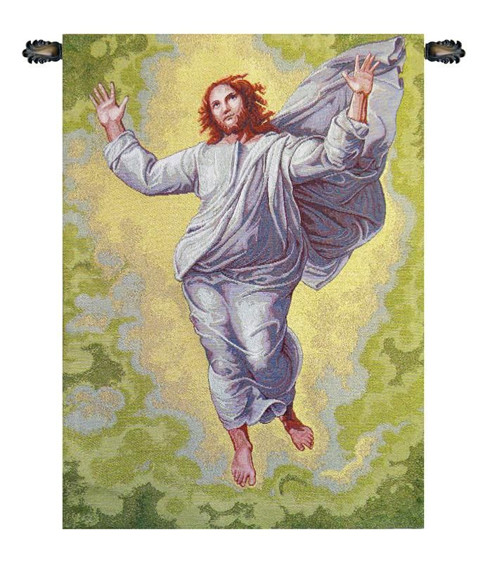 Transfiguration of Jesus Italian Wall Tapestry