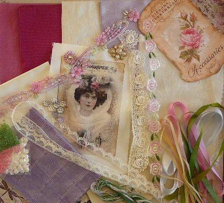 Craszy Patch /Quilting Pinks / Lavender