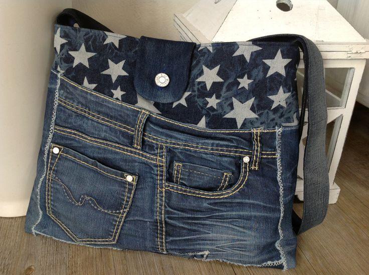 cool jeans bag