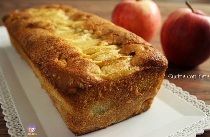 Plumcake alle mele sofficissimo e morbidissimo, ideale per la colazione o in qualunque momento della giornata. Ho usato le mele granny smith.
