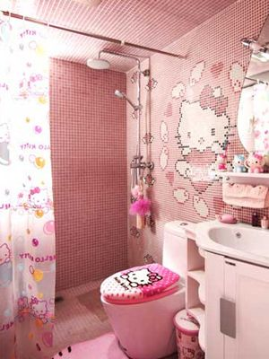 25 unique hello kitty bathroom ideas on pinterest hello kitty stuff hello kitty rooms and. Black Bedroom Furniture Sets. Home Design Ideas