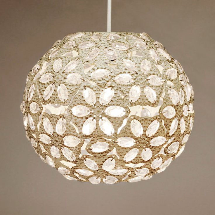 Moroccan Style Vintage Cream Jewel Ceiling Pendant Light Shade Lantern Lampshade