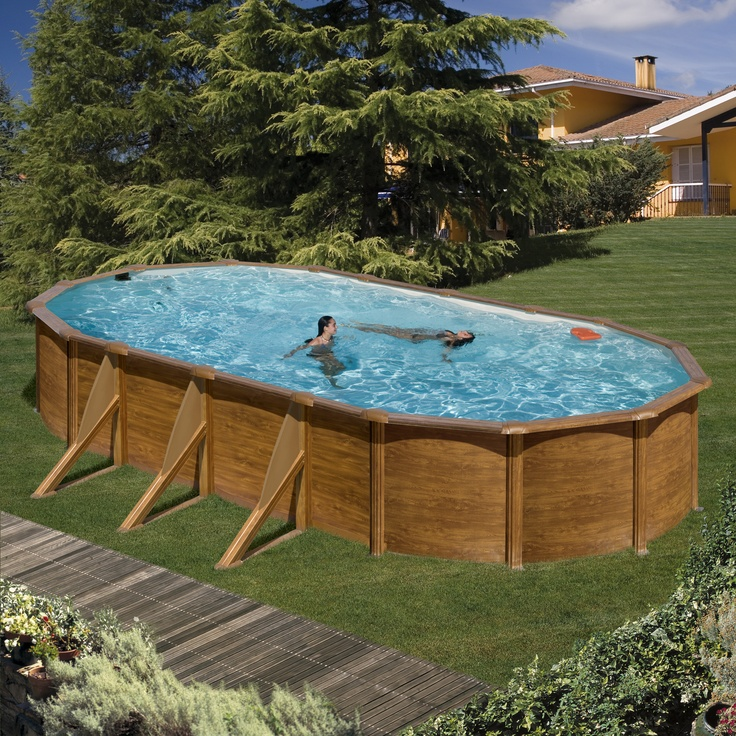 17 best images about piscinas desmontables above ground for Piscinas desmontables