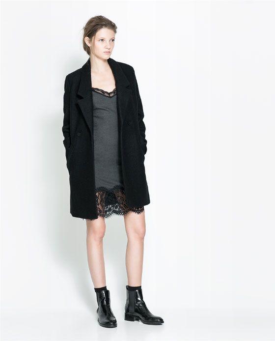 ZARA - NEW THIS WEEK - LINGERIE-STYLE DRESS