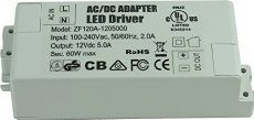 OBQ LED Leuchmittel Trafo 12V DC 5A 60W Netzteil Treiber Transformator für G4 LED Lampen,LED Strips