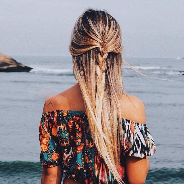 Half braid || hair style inspiration