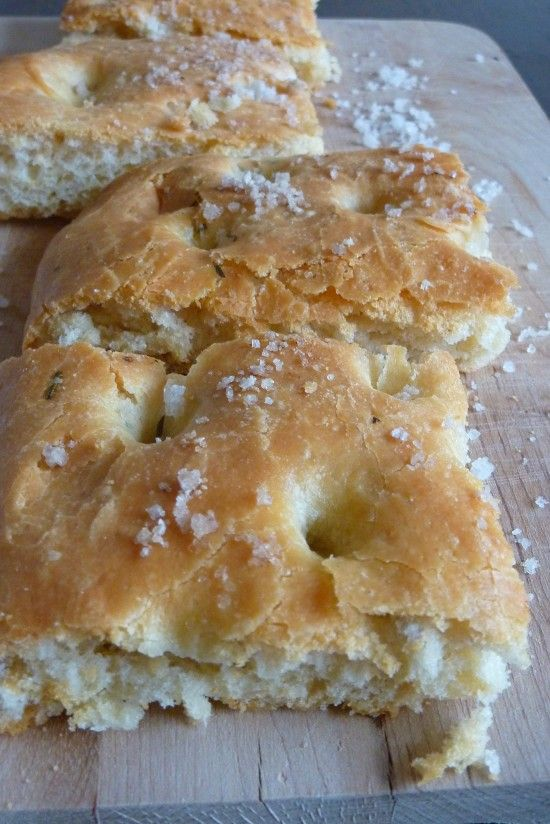 Rosemary Garlic Foccacia