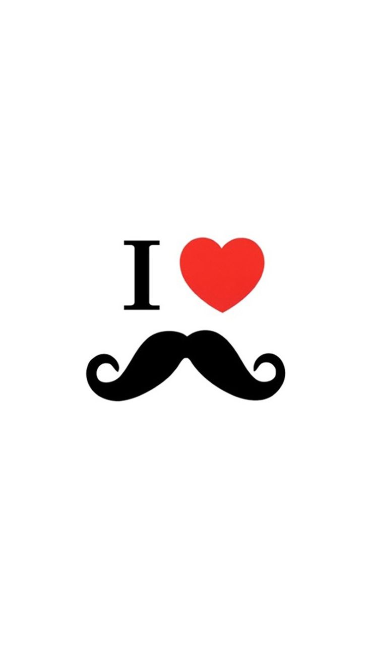 Wallpaper iphone tumblr mustache - Cute Love Art Retina Iphone 6 Plus Wallpaper