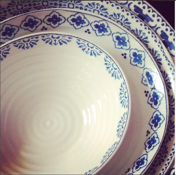Sophie Conran Blue Muster Mix Www Kippax De Geschirr Portmeirion Portmeirion Sophie Conran Blue Geschirr Schones Geschirr Und Porzellan Geschirr