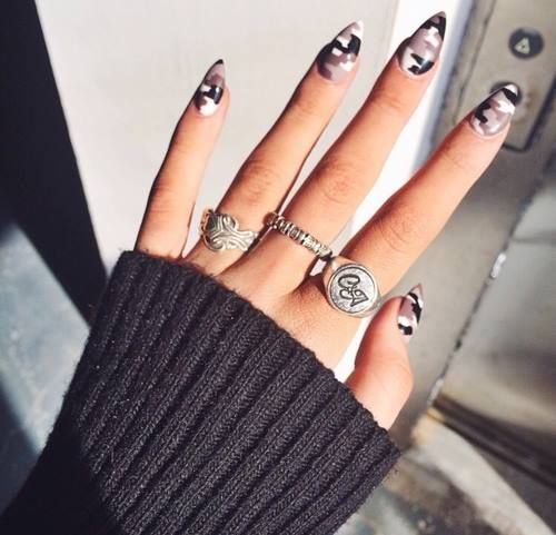 moro nails military manicure