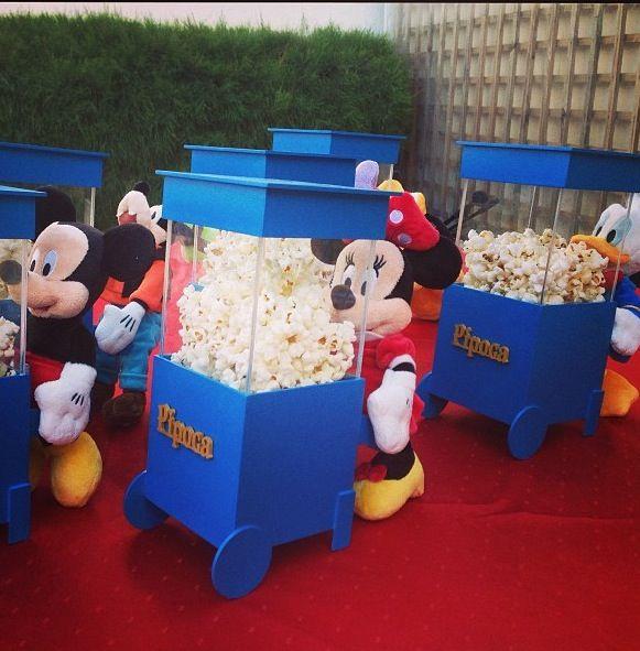 Centros de mesa do Mickey
