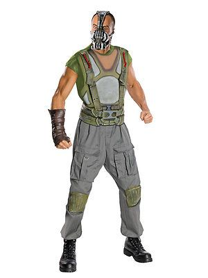 Mens deluxe bane fancy dress costume #batman dark #knight halloween #outfit + mas,  View more on the LINK: 	http://www.zeppy.io/product/gb/2/351541233247/