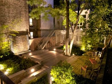 6b6ea5d03f076ca771b6e7c5af1fb574--city-gardens-zen-gardens The Backyard House
