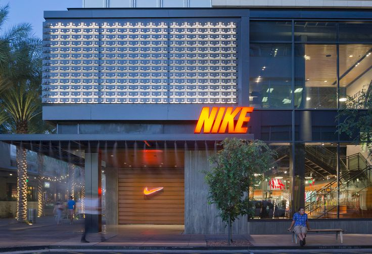 The Nike concept store in Scottsdale, Arizona | facades ...