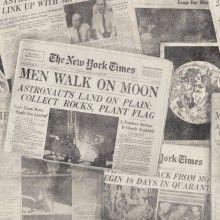 Tapet designer News Moonwalker Neutral, MINDTHEGAP