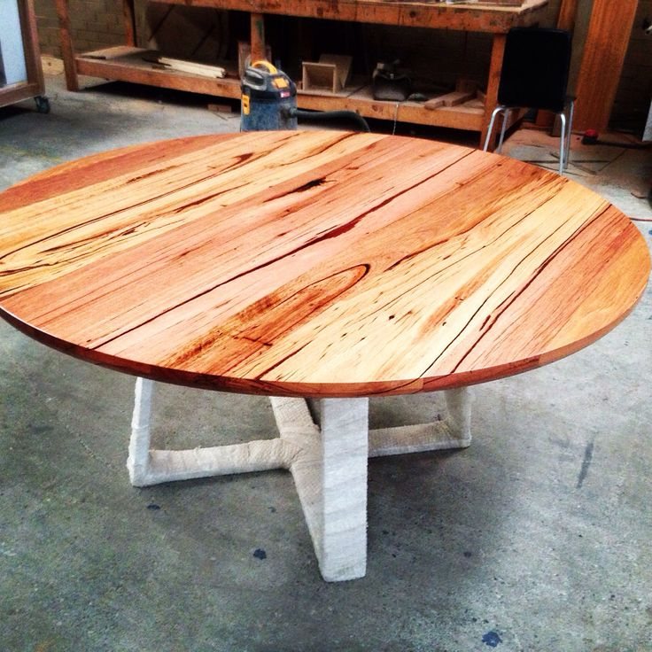 Recycled Messmate round table