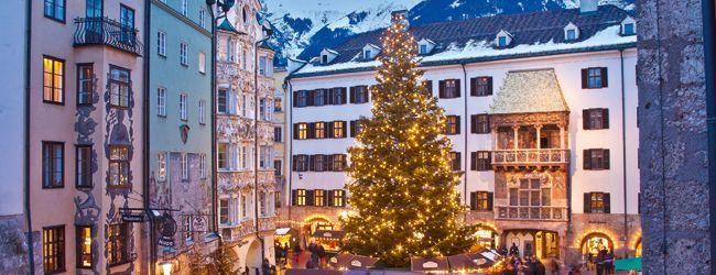 Innsbruck's Christmas Markets - Innsbruck's Christmas markets rank among the finest in the Alpine region. From 15 November until 6 January downtown Innsbruck becomes the perfect spot to stroll and enjoy the festive atmosphere.  Christmas market in Innsbruck © Innsbruck Tourismus