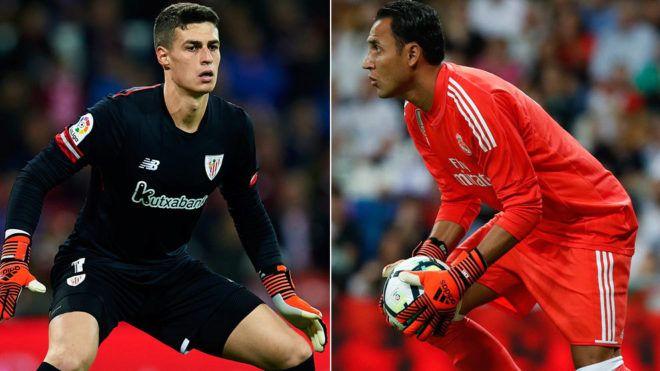 LaLiga Santander: Así fue el duelo entre Kepa Arrizabalaga y Keylor Navas en el Athletic vs Real Madrid | Marca.com http://www.marca.com/futbol/primera-division/2017/12/02/5a22f69a22601d253f8b46a0.html