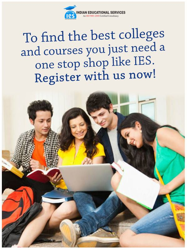 To find the best #colleges and #courses you just need a one stop shop like IES. Register with us now!
