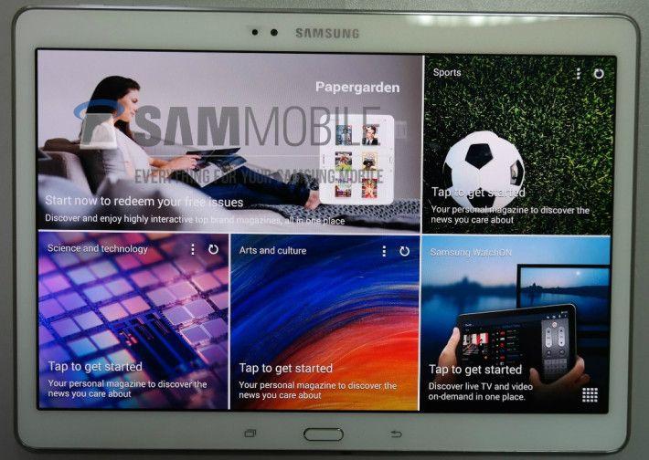 Galaxy Tab S leaks in all its 10.5-inch AMOLED glory