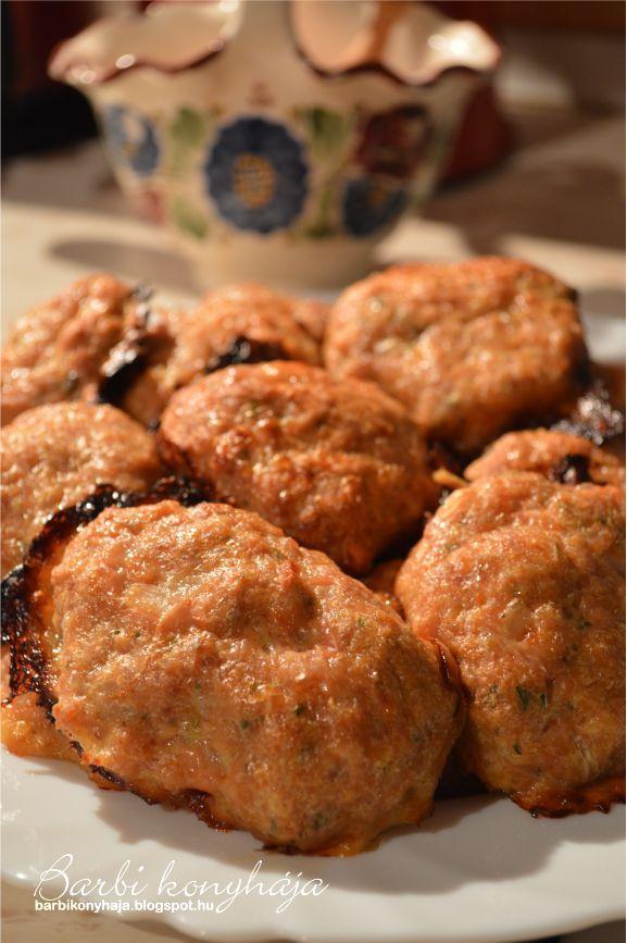 Barbi konyhája: Fasírozott pogácsák sütőben sütve