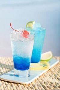 Blue Lagoon (2 oz Vodka 1 oz Blue Curacao Lemonade)