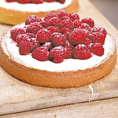 Genoese Strawberry Tart recipe from Hugh Fearnley-Whittingstall. For the full recipe and more, click the picture or visit RedOnline.co.uk
