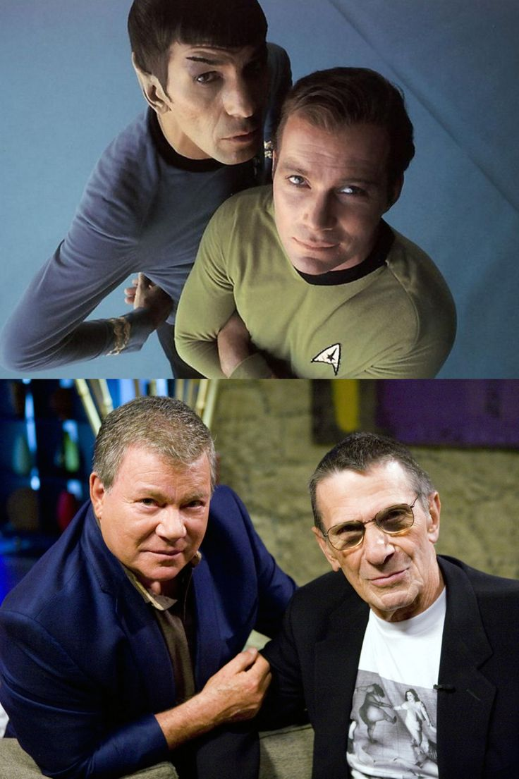 William Shatner & Leonard Nimoy - Star Trek