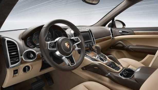 2017 Porsche Cayenne - interior