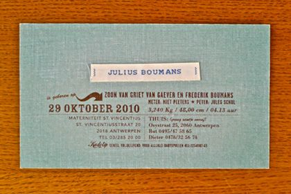 Very vintage like Bavet - Quality Cards since 2010