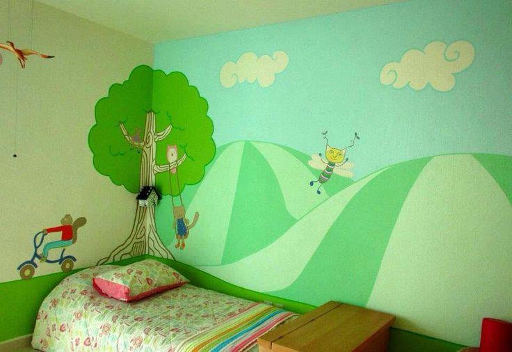 Murales para niños, decoración infantil. Cuartos de niños