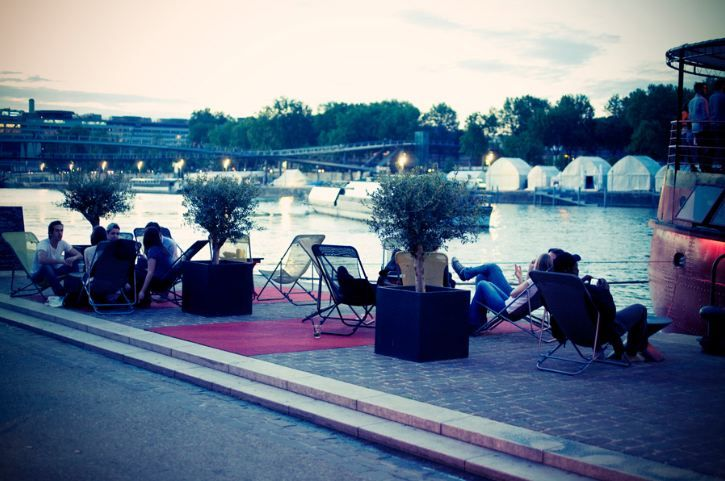 Le Batofar, Port de la Gare, face au 11, quai François-Mauriac, Paris 13e . With deckchairs along the Seine, open from happy hour 'til 1:00 a.m., clubbers can warm up with cocktails and tapas before taking to the dance floor #BestPlaces #Clubbing #Party #Restaurant #Music #ParisLifestyle #Paris