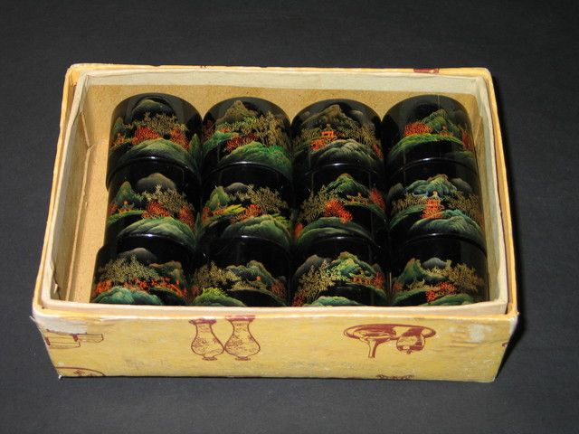 Vintage Asian Napkin Ring Holders . Starting at $1