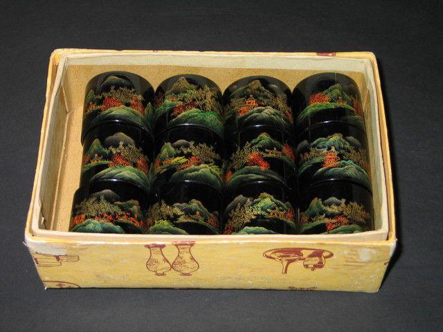 Vintage Asian Napkin Ring Holders . Starting at $1