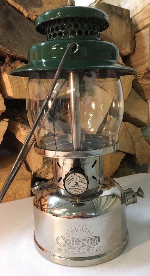 "Vintage coleman 237 ""Empire"" Canadian kerosene lantern. Untested... #Coleman"