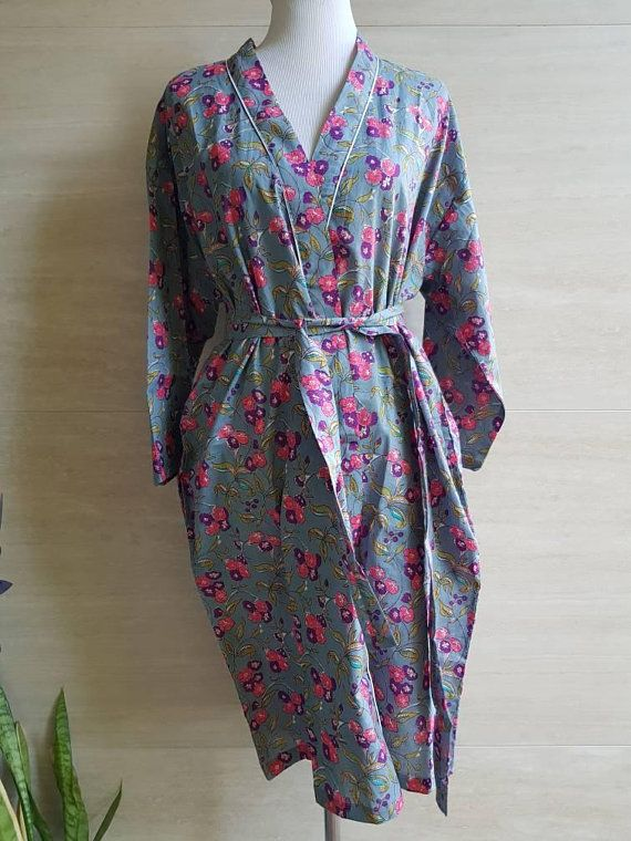 Check out this item in my Etsy shop https://www.etsy.com/au/listing/600359843/cotton-robe-kimono-wedding-bridesmaid