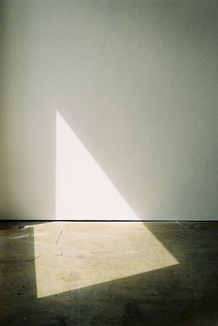 Anonymous Photographer. See work by Uta Barth for similar The play of light and shadow - following daylight