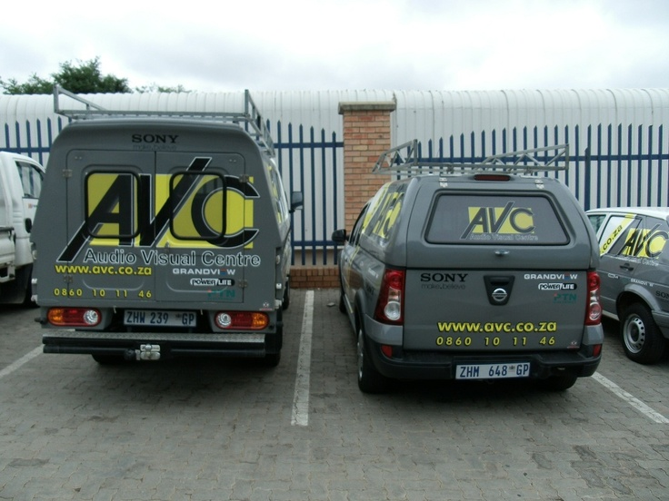 AVC's fleet with our new branding