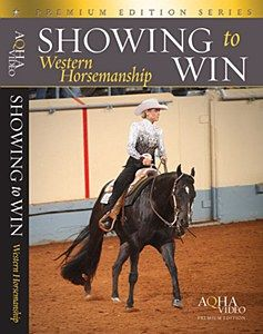 """The """"Showing to Win: Western Horsemanship"""" DVD contains everything you need to know before stepping into the Horsemanship show ring. This horse video will truly enable you to reach a new level of success in your horse showing."""