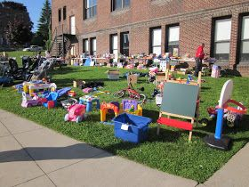 PTO Ideas Blog: How We Organized & Ran a School Yard Sale Fundraiser