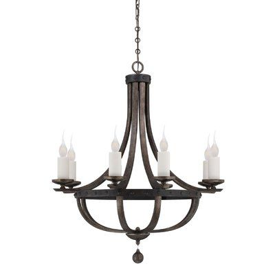 Westinghouse Lighting Brixton 6-Light Candle-Style Chandelier & Reviews | Birch Lane