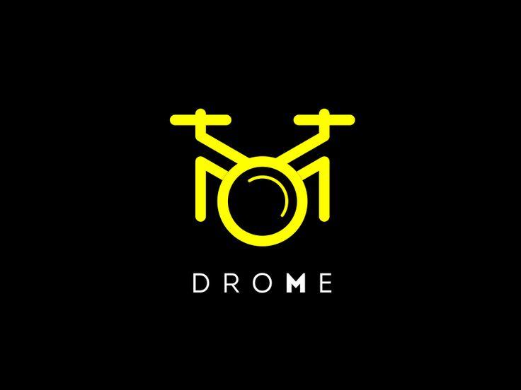 drone logo by Bagja Ahmad Syahid