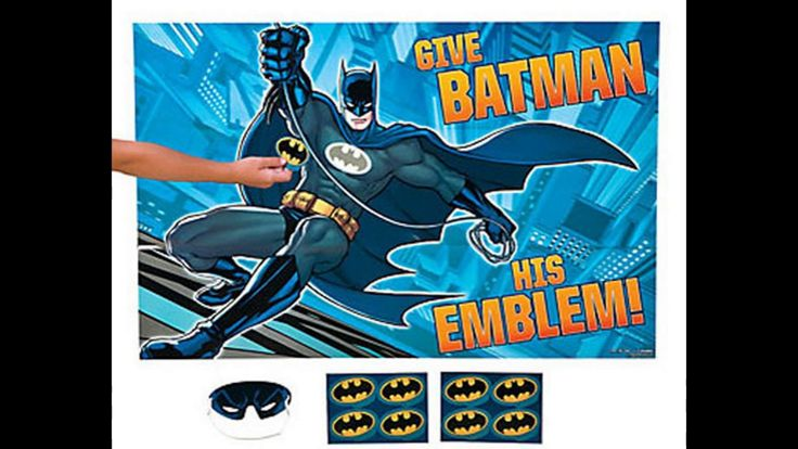 Batman Party Supplies | Batman Themed Party | Ezy Kids Parties