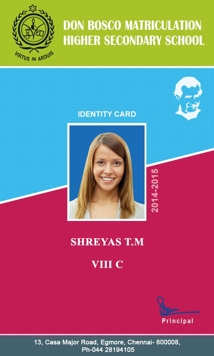 9 best id card images on pinterest cards badges and business cards design magicingreecefo Image collections
