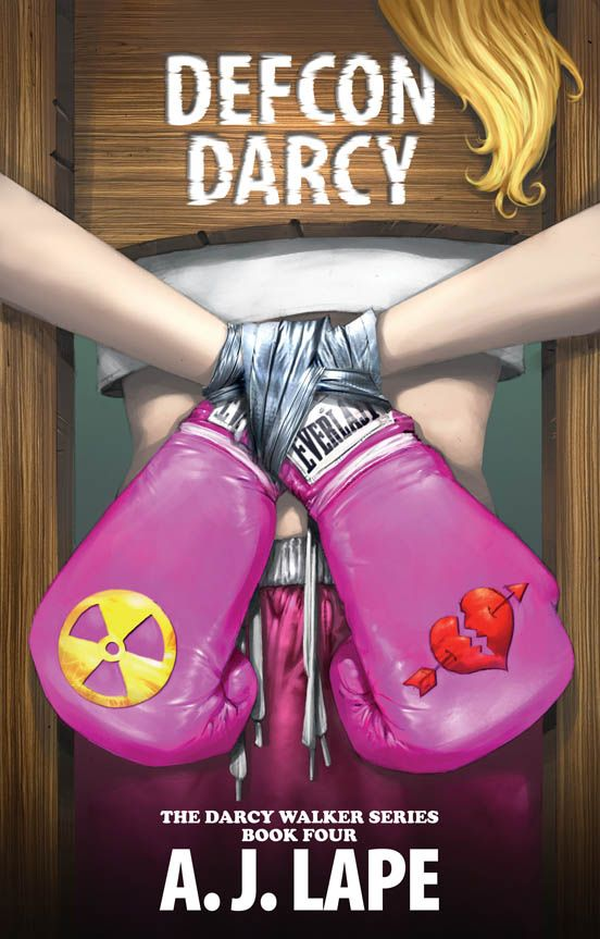 Cover Reveal - DEFCON DARCY! Coming in February. Another awesome installment in the Darcy Walker Mystery Series by AJ Lape - Author