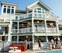 Sun Realty represents some of the finest Outer Banks wedding and special event homes. Photo Credit:Daniel Pullen