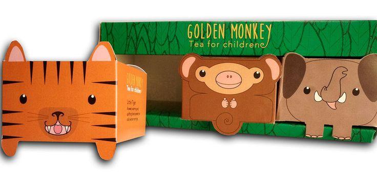 Future Friendly Design: Golden Monkey Tea for Kids