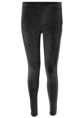 Storm & Marie Spencer PA Pants black - Sorte Velourleggings – acorns